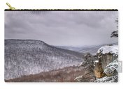 Snow On The Plateau Carry-all Pouch