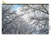Snow On Trees Carry-all Pouch