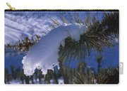 Snow Ornament - Joshua Tree Carry-all Pouch