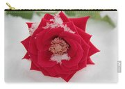 Snow Rose Carry-all Pouch
