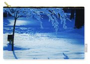 Snow Shadows Carry-all Pouch
