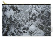Snow, Snow, Snow, White Rock, B.c. Carry-all Pouch