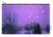 Snow Song Carry-all Pouch