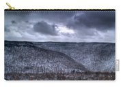 Snow Storm In The Mountains Carry-all Pouch