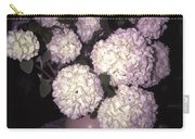 Snowball Bouquet Carry-all Pouch