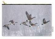 Snowbound Arrivals Carry-all Pouch