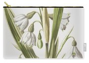 Snowdrop And Snowflake Carry-all Pouch