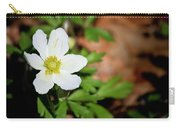 Snowdrop Anemone Carry-all Pouch
