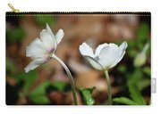 Snowdrop Anemones Carry-all Pouch
