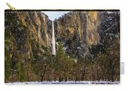 Snowfall Bridalveil Falls Carry-all Pouch