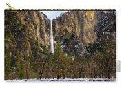 Snowfall Bridalveil Falls Carry-all Pouch