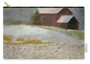 Snowfall In The Valley Carry-all Pouch