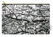 Snowfall On Branches Carry-all Pouch