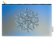 Snowflake Photo - Gardener's Dream Carry-all Pouch by Alexey Kljatov