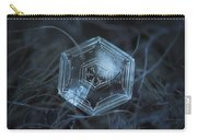 Snowflake Photo - Hex Appeal Carry-all Pouch