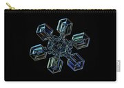 Snowflake Photo - High Voltage IIi Carry-all Pouch by Alexey Kljatov