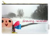 Snowing Nevando Carry-all Pouch