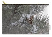 Snowladen Pine. Carry-all Pouch