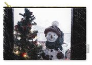Snowman And Tree Pa Carry-all Pouch