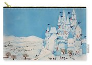 Snowman Castle Carry-all Pouch