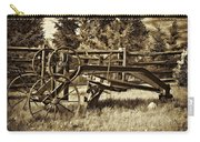 Snowplow Sepia Carry-all Pouch