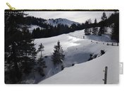 Snowshoeing Switzerland's La Berra Carry-all Pouch