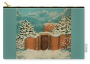 Snowstorm In Santa Fe Carry-all Pouch