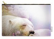 Snowstorm Kisses Carry-all Pouch