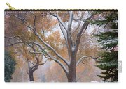 Snowy Autumn Landscape Carry-all Pouch by James BO  Insogna