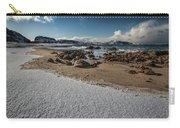 Snowy Beach Carry-all Pouch