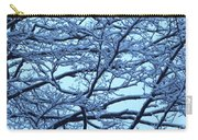 Snowy Branches Landscape Photograph Carry-all Pouch
