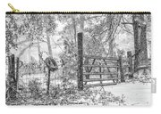 Snowy Cattle Gate Carry-all Pouch