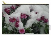 Snowy Chrysanthemums Carry-all Pouch