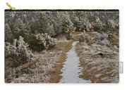Snowy Colorado Trail Carry-all Pouch