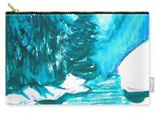 Snowy Creek Banks Carry-all Pouch