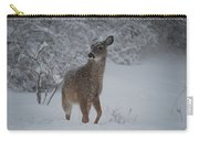 Snowy Doe Carry-all Pouch