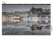 Snowy, Dreamy Reflection In Stockholm Carry-all Pouch