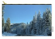 Snowy Drive Carry-all Pouch