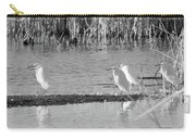 Snowy Egret - 1 Carry-all Pouch