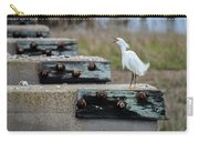 Snowy Egret #2 Carry-all Pouch