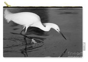 Snowy Egret Fishing Carry-all Pouch