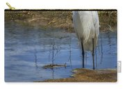 Snowy Egret Of Chincoteague No. 3 Carry-all Pouch