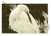 Snowy Egret Portrait Carry-all Pouch
