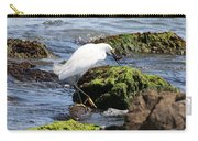 Snowy Egret  Series 2  2 Of 3  Preparing Carry-all Pouch
