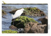 Snowy Egret  Series 2  3 Of 3  Adjusting Carry-all Pouch