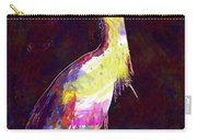 Snowy Egret Waterfowl Bird Large  Carry-all Pouch