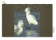 Snowy Egrets Carry-all Pouch