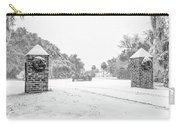 Snowy Gates Of Chisolm Island Carry-all Pouch