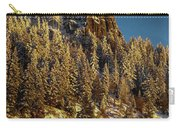 Snowy Hobart Bluff  Carry-all Pouch
