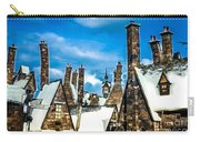 Snowy Hogsmeade Village Rooftops Carry-all Pouch